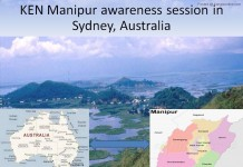 KEN Manipur awareness session in Sydney, Australia