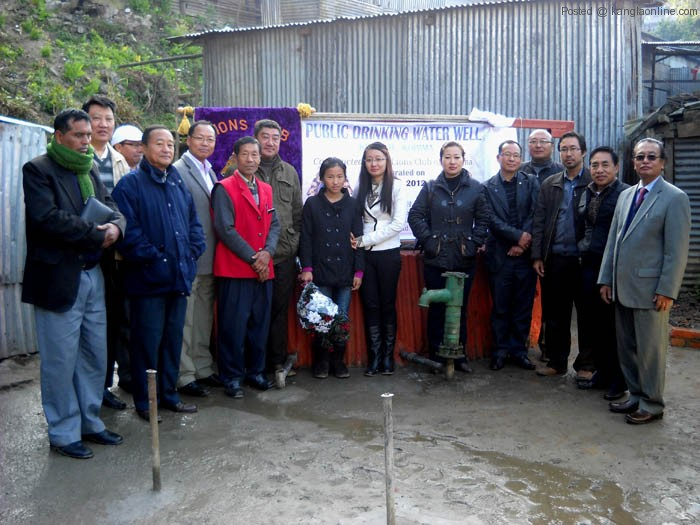 public drinking water well dedicated
