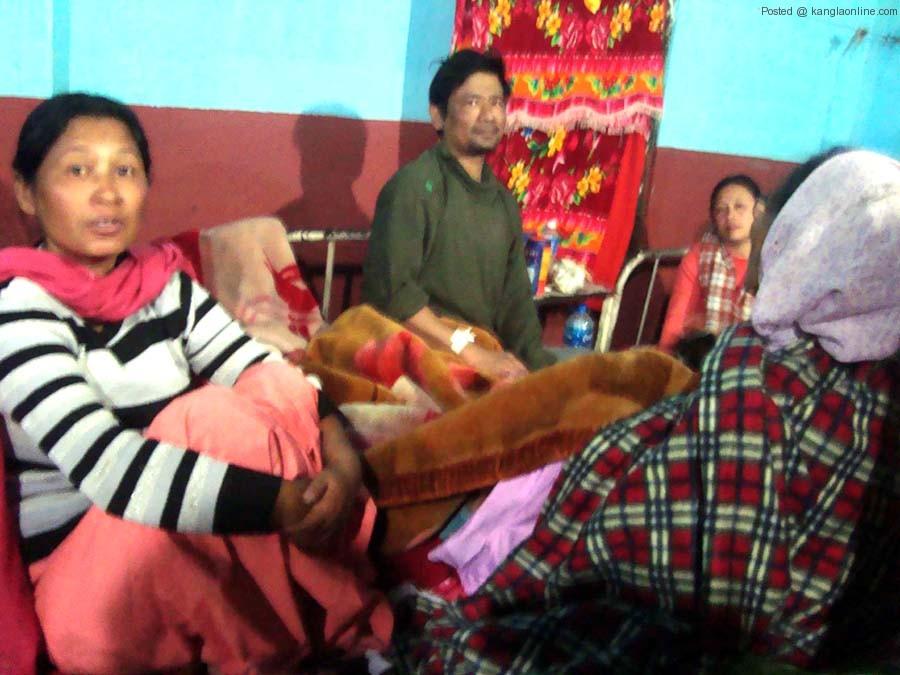 Moiranghtem Bijen Singh at the CHC, Jiribam on Wednesday