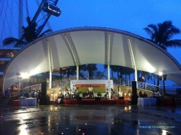 Rhythms of Manipur perfomance at Singapore Flyer (3)
