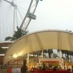 Rhythms of Manipur perfomance at Singapore Flyer (4)