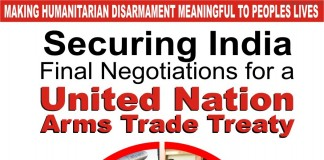 Securing India: Final Negotiations for a United Nation Arms Trade Treaty