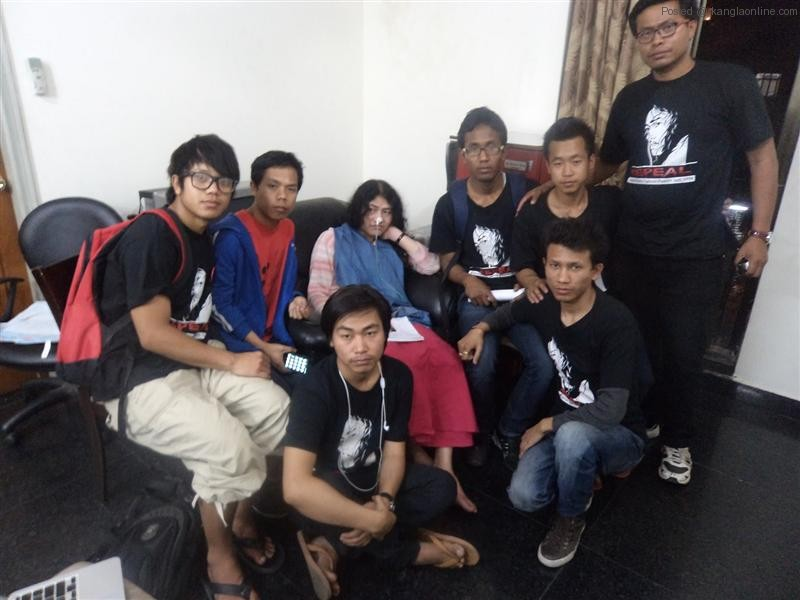 Solidarity Gathering for Manipurs' Iron Lady - Irom Chanu Sharmila by MSAD and SDRAG (4)