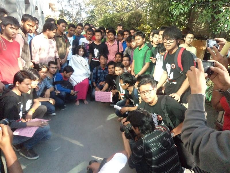 Solidarity Gathering for Manipurs' Iron Lady - Irom Chanu Sharmila by MSAD and SDRAG (1)