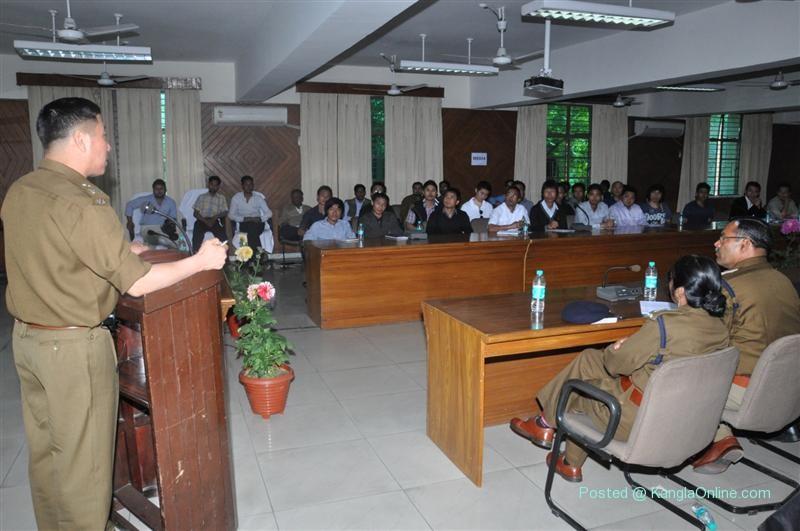 Sh. Robin Hibu IPS, (Joint Commissioner of Police/Training)