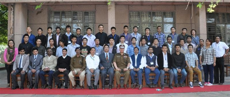Press Release of Training on Security For North East 7-3-2013 in respect of Sh. Robin Hibu IPS, (Joint Commissioner of Police/Training)