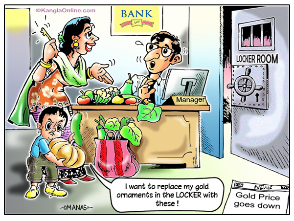 Bank Gold Locker