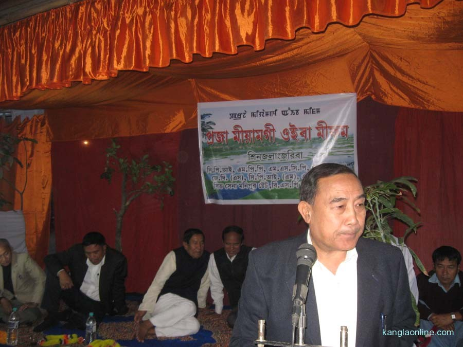 Several political parties of the state held a public meeting at the office complex of Shiv Sena Manipur State at Sagolband Tera Yengkhom Leirak Machin on Tuesday