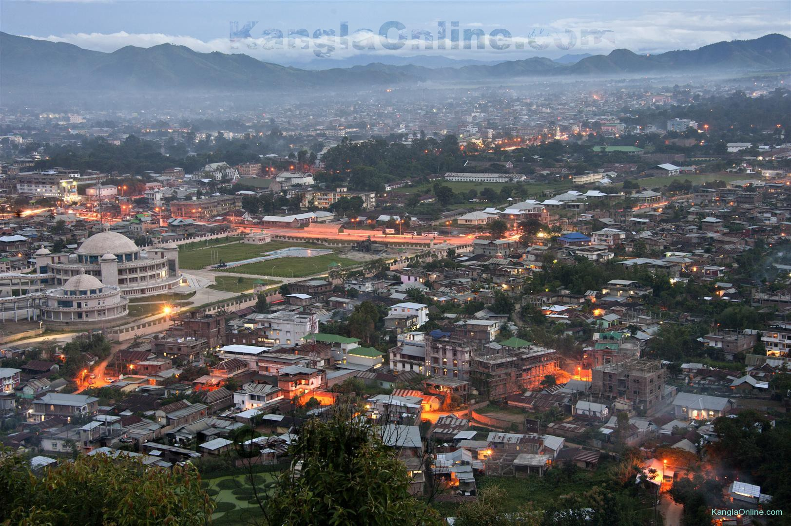 Online Home Designer View Of Manipur Valley During The Evening Kanglaonline