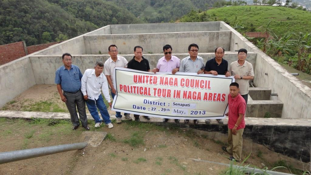 Water supply scheme at Senapati (2008-2009) at cost of 3 crores and reported as completed