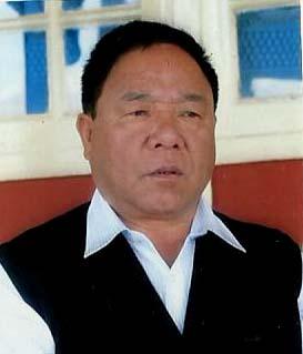 Nagaland Home Minister G Kaito Aye
