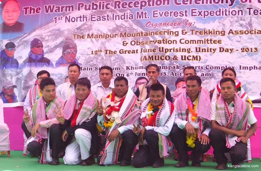 Mt Everest Expedition Team Received With Great Fanfare