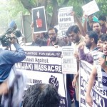 Ramban protest march