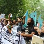 Ramdan protest