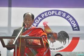 CM Nagaland. Photo: poumainaga.com