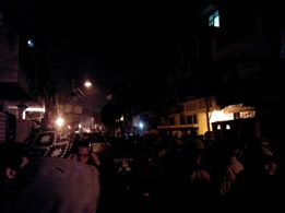 NE Protesters in North Delhi against assault & rape attempt on a Manipuri Girl studying Delhi University