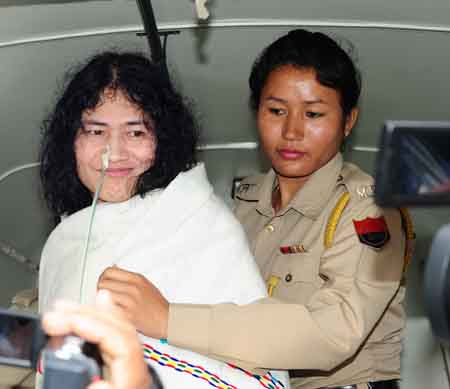 Irom Sharmila Chanu Photo: IFP