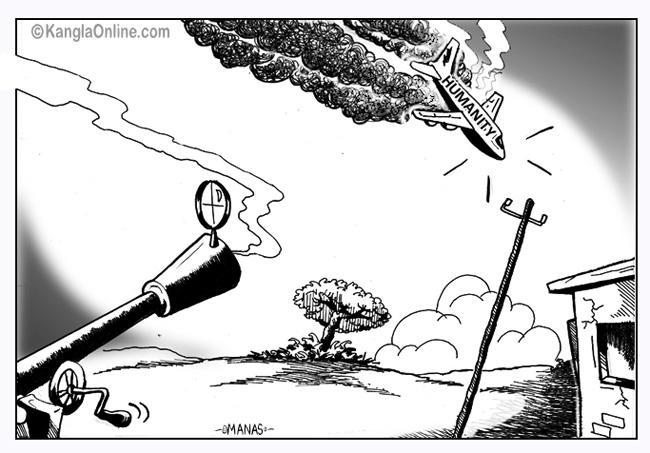 malayasian plane shotdown
