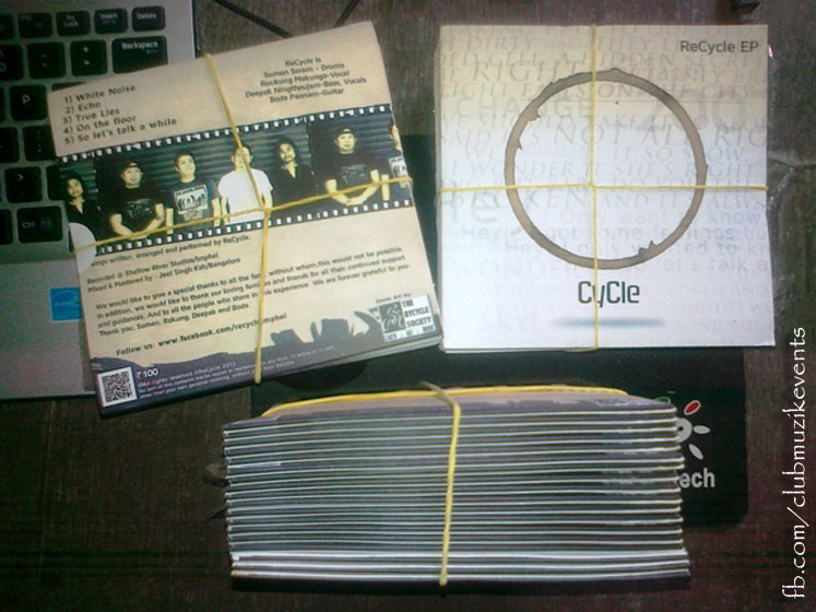 Recycle Music Band - CDs