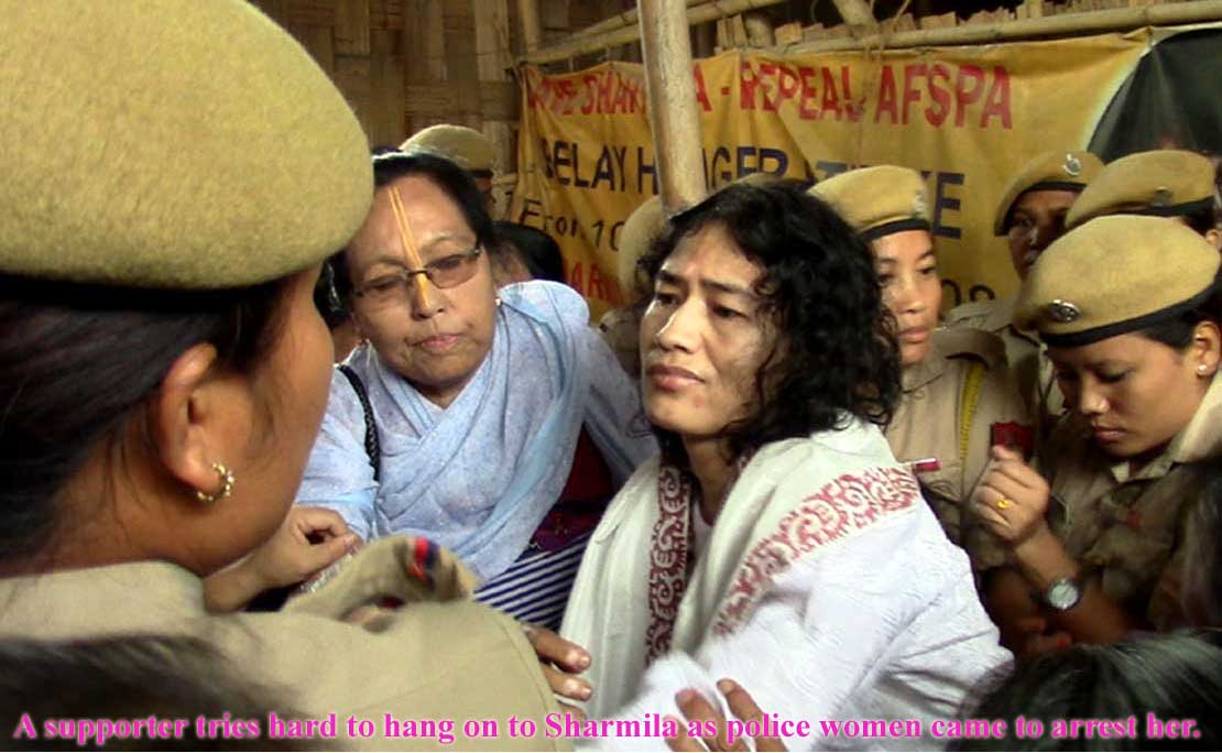 Sharmila rearrested