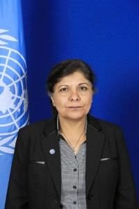 Official Photo of Dr. Shamshad Akhtar, Under-Secretary-General of the United Nations