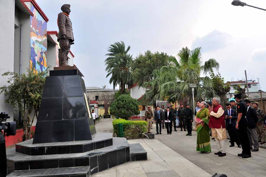 Governor Assam,Tripura and Nagaland visit INA Museum Moirang on Wednesday.