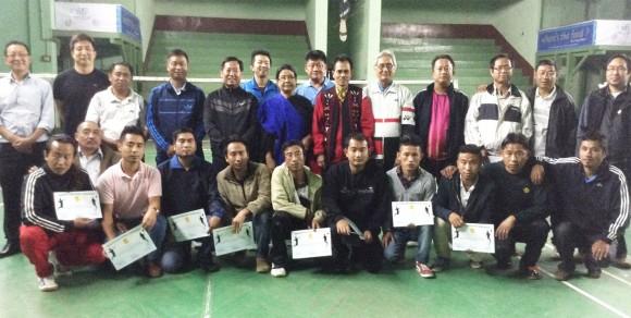 Badminton Umpire Clinic at Kohima