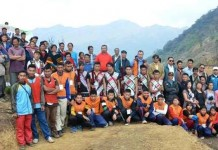 New Dzuko Road from Manipur side opening
