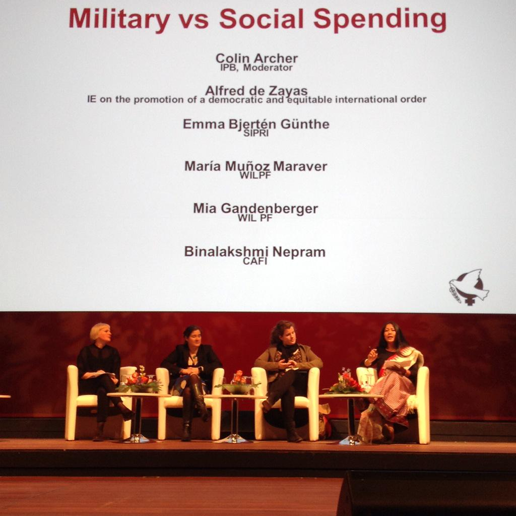 Bina Speaking in Europe 28April
