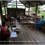 Primary school in Phaikoh Village, Ukhrul, Manipur. Express photo by Deepak Shijagurumayum