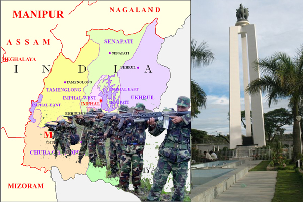 Manipur Ambush -  heavy fighting in Manipur Myanmar border