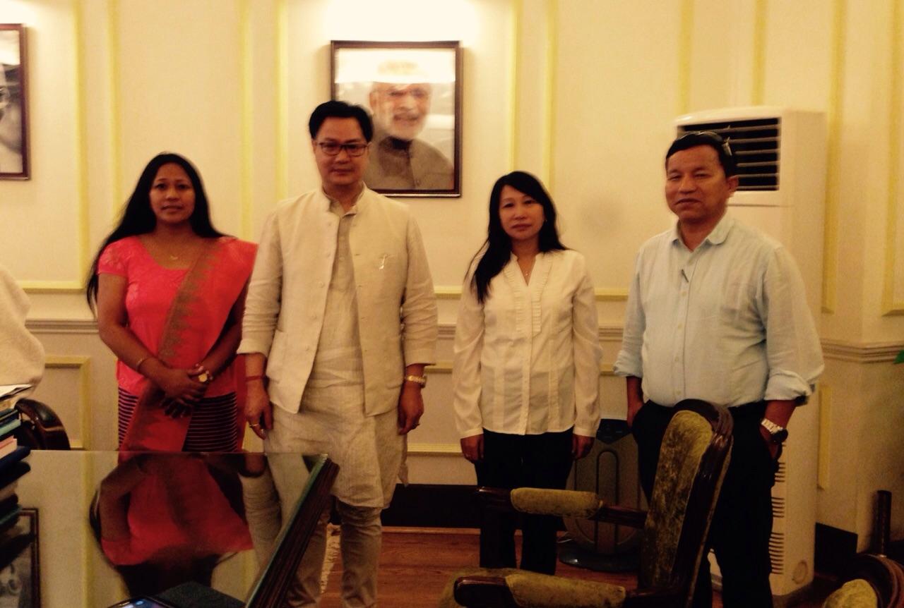 NE Communities Leaders met Kiren Rijiju
