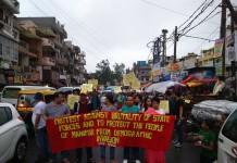 MSAD Demonstration at Delhi