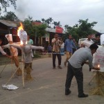 Manipur ILP Demand - Jiribam: Burning Effigies