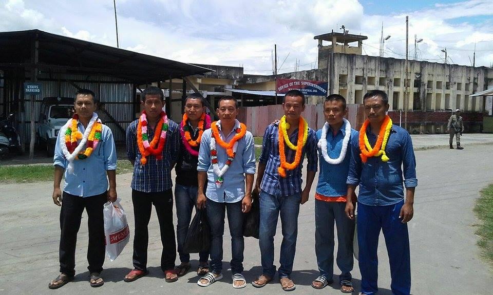 student leaders released , JCILPS