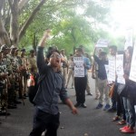 NEFIS Activists demanding arrest of rapist Indian Army