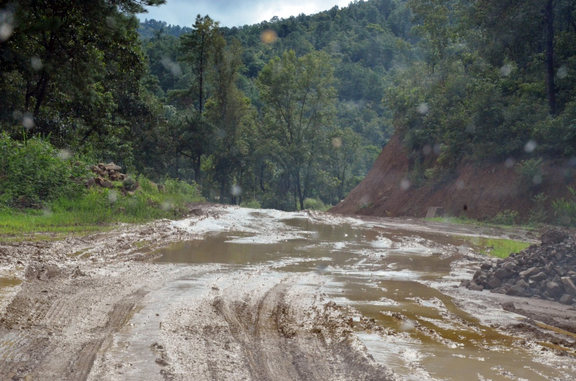 Ukhrul road. Photo- Chingtham Balbir Khuman