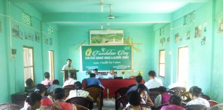 9th Foundation day of CADA at jiribam