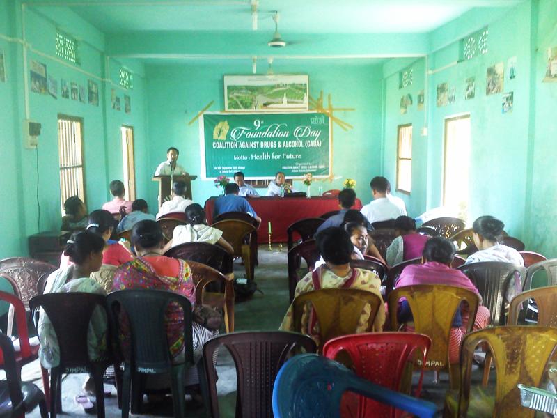 9th Foundation day of CADA at jiribam