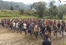 Alleged NSCN-IM new recruits in Tamenglong Manipur