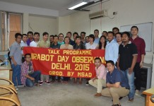 MSAD Irabot day talk, DU political science department