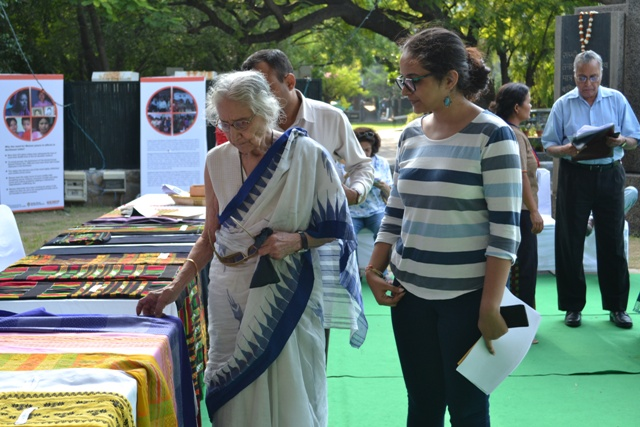 A Northeast India Women Mother's Bazaar of Bamboo Craft and Weaving Exhibition