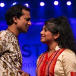 Zubeen Garg and Jublee Baruah. performing at North East Festival