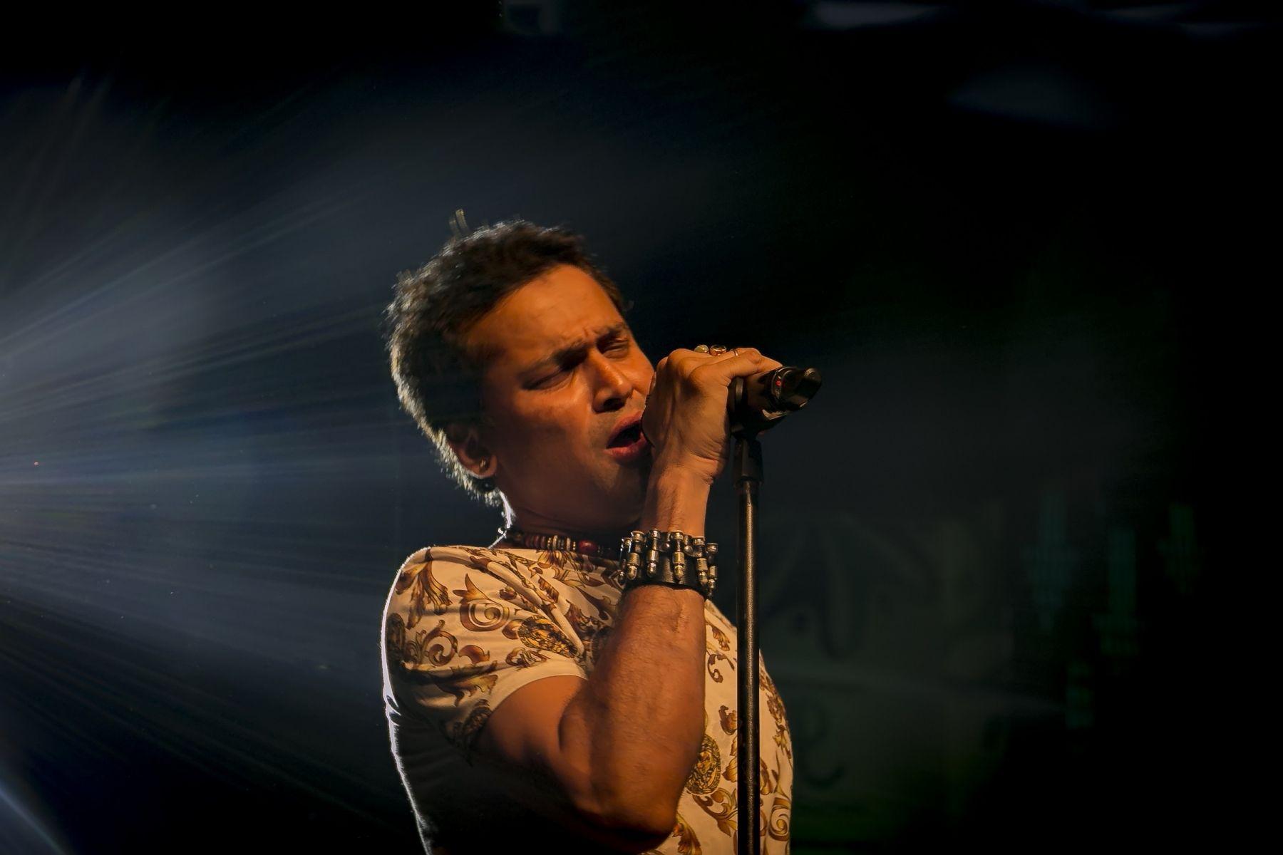 Anaya Brahma performing at North East Festival