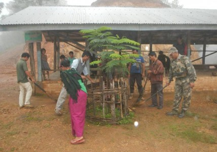24 Assam Rifles conducts lecture on Swachh Bharat Abhiyan at RRC village (1)