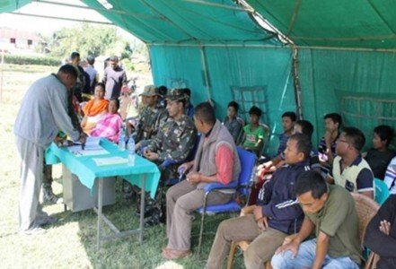 45 Assam Rifles distributes Solar Lights to the village community of Takhel village (2)
