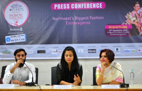 Press Conference of Pond's Eclectic Model Hunt 2015