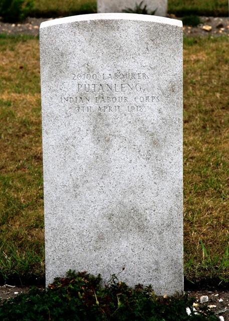 Putanleng grave, Grave of manipuri in France