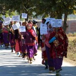 Aimol tribe rally in Chandel district against tagging in to Naga NSCN Manipur