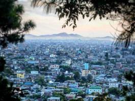 View of Imphal City. Photo by: Deepak shijagurumayum